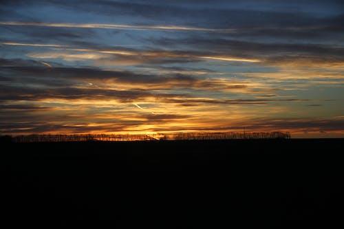 Fotos de stock gratuitas de carretera, cielo, cielo de la tarde