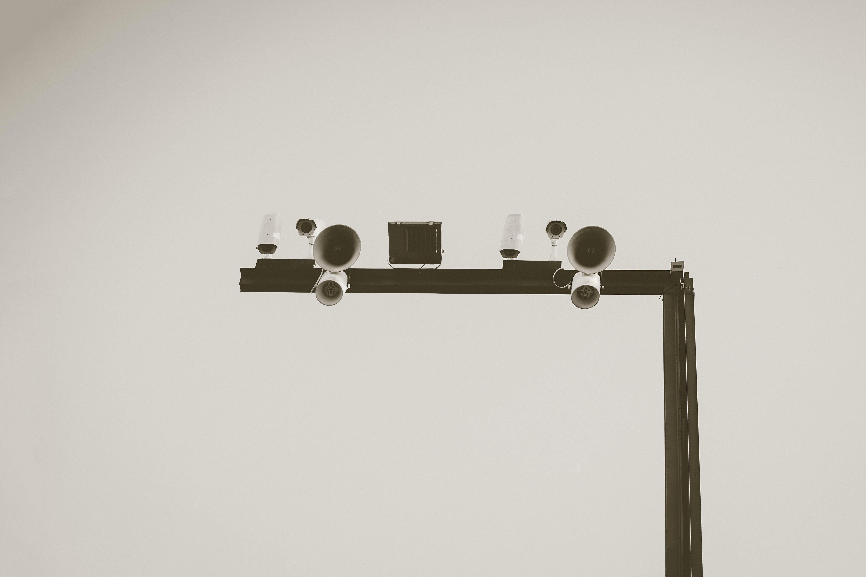 Kostenloses Stock Foto zu business, cctv, draußen, grau