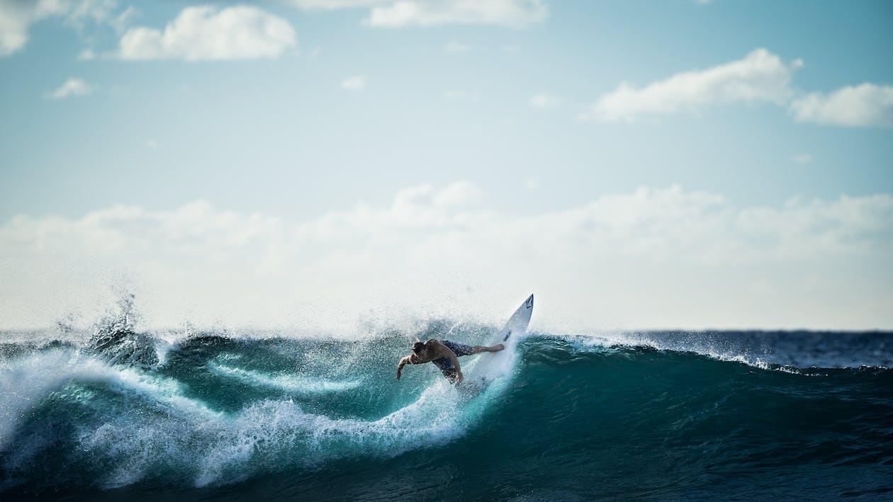 dalga, deniz, el sallamak