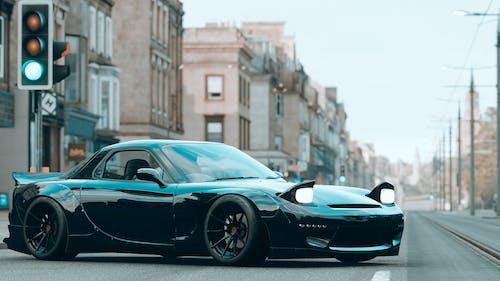 Free stock photo of asphalt, automotive, black