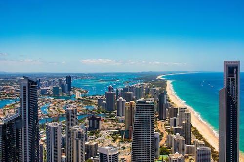 Immagine gratuita di acqua, architettura, australia, centro città