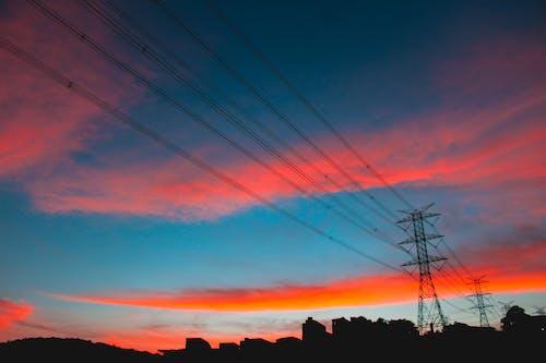açık, akşam, akşam karanlığı içeren Ücretsiz stok fotoğraf