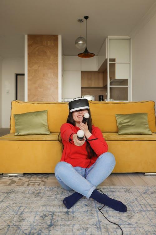 VR, 在家, 坐 的 免费素材图片