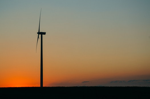 Free stock photo of sky, sunset, wind, energy