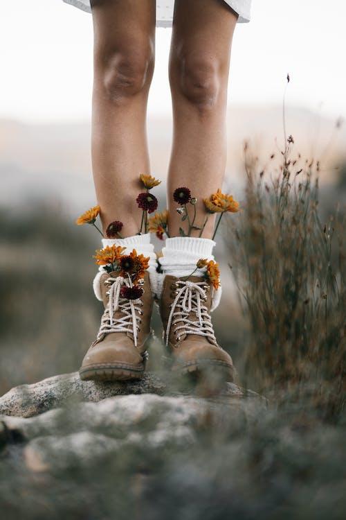 Fotos de stock gratuitas de botas, calzado, flora