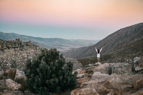 Free stock photo of adventure, adventurer, arms outstretched