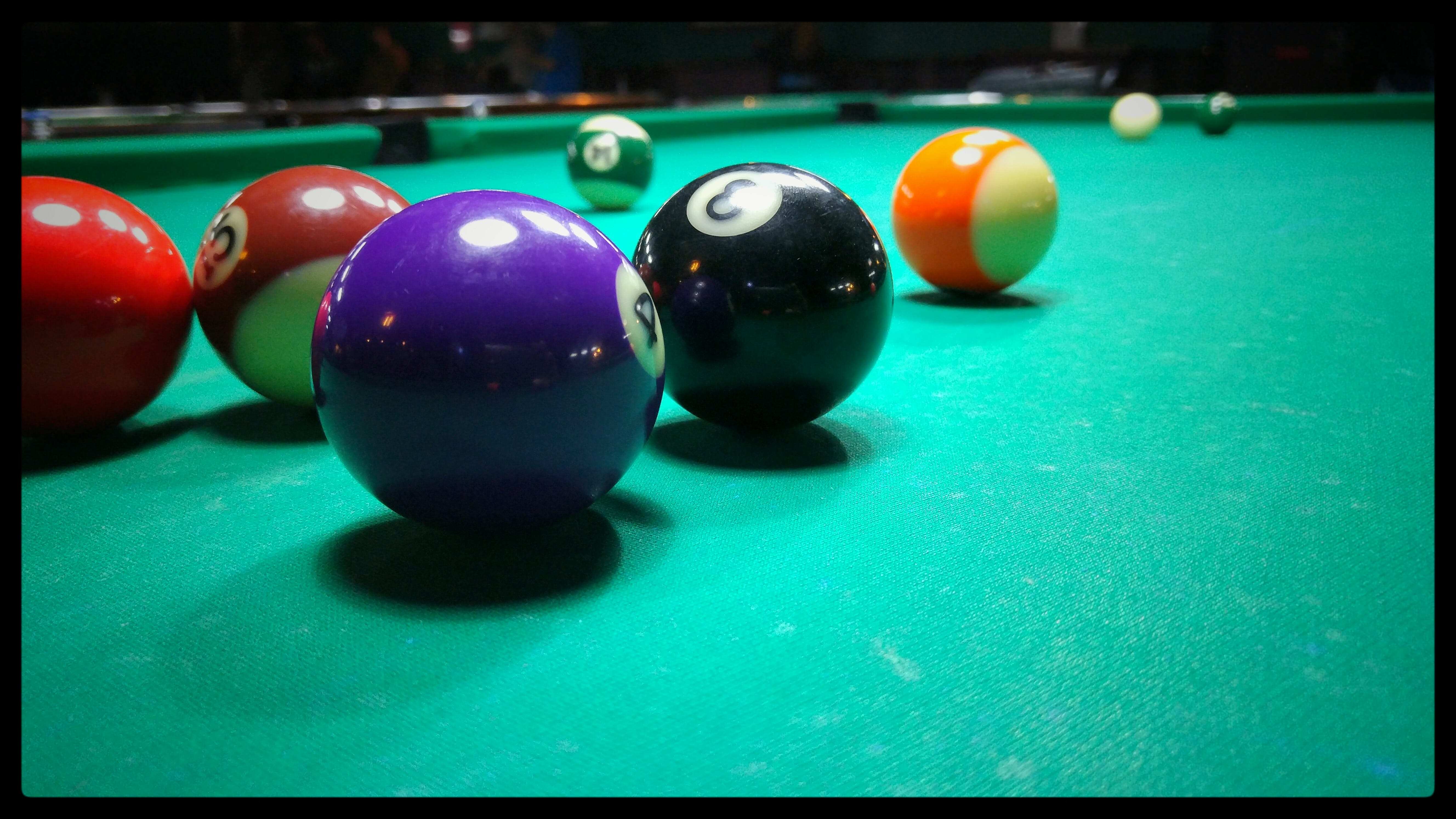 Free stock photo of 4, billiards, green, pool