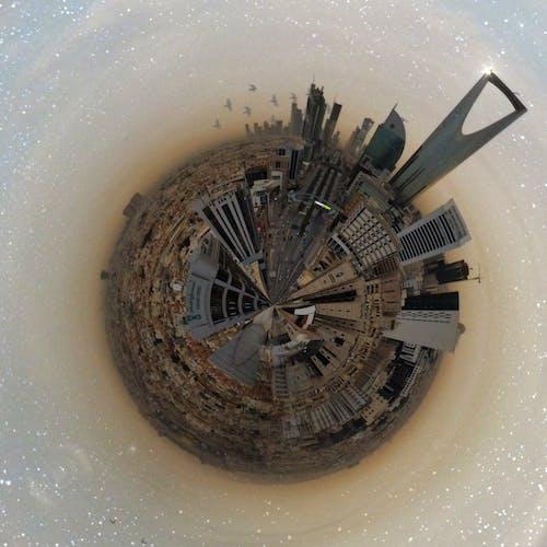 คลังภาพถ่ายฟรี ของ กล้องโดรน, ซาอุดิอาราเบีย, ดาวเคราะห์จิ๋ว