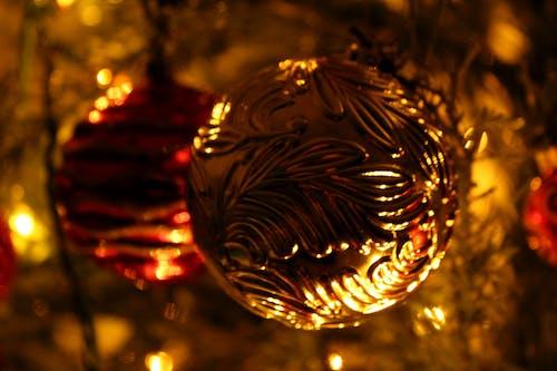 Δωρεάν στοκ φωτογραφιών με Νύχτα, στολίδια, φώτα, Χριστούγεννα