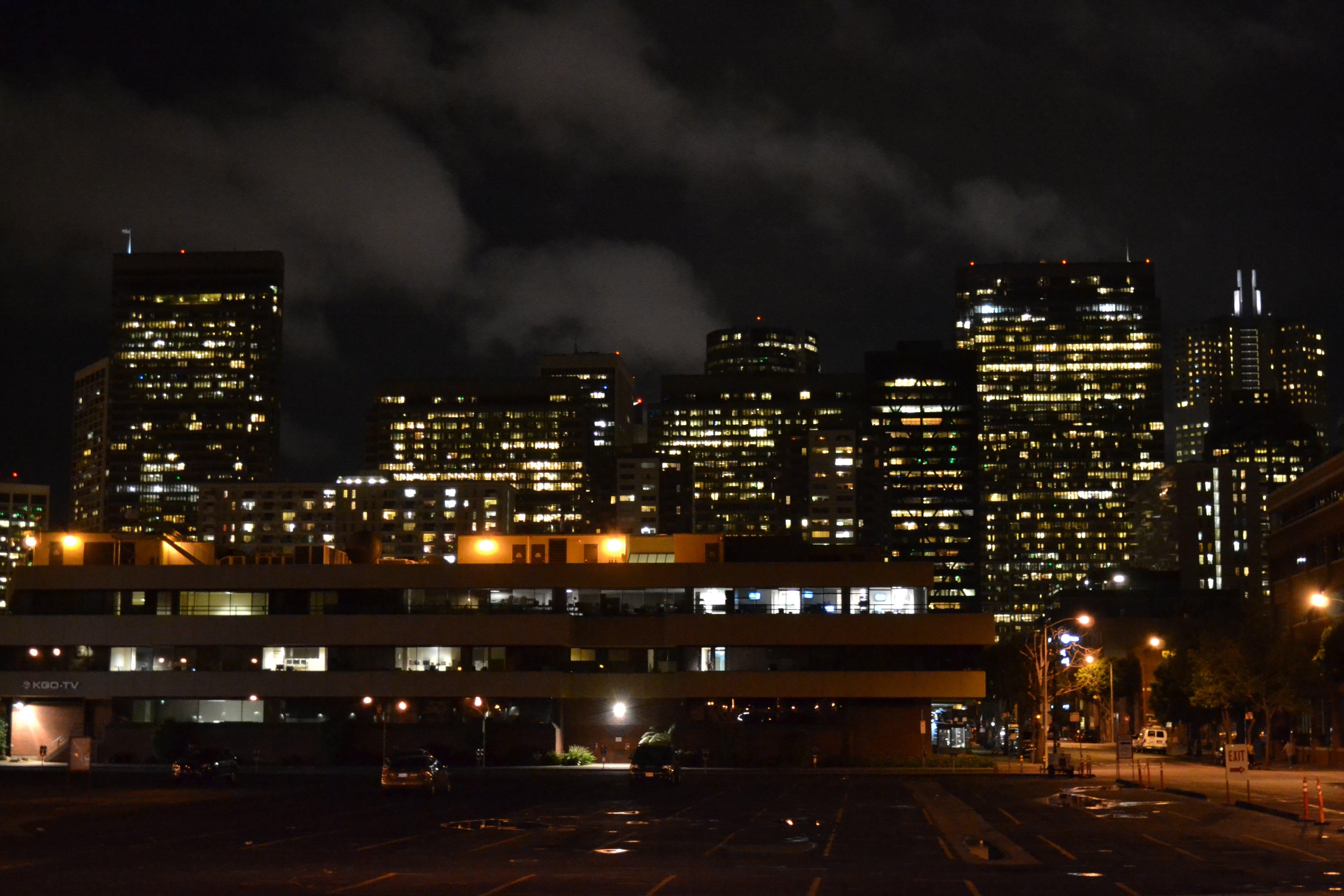 Free stock photo of california, city life, night lights