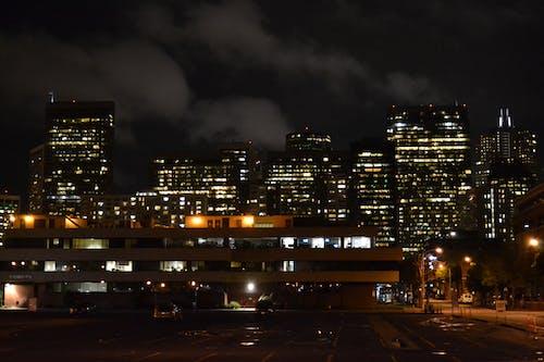 Free stock photo of city life, night lights