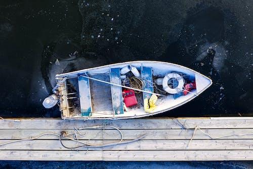 Darmowe zdjęcie z galerii z lód, łódź, mrożony