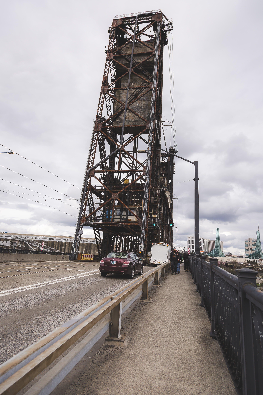 Free stock photo of crossing, street, walking, bridge
