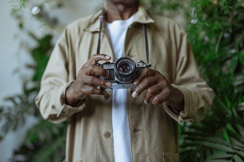 Foto d'estoc gratuïta de Analògic, antic, càmera analògica