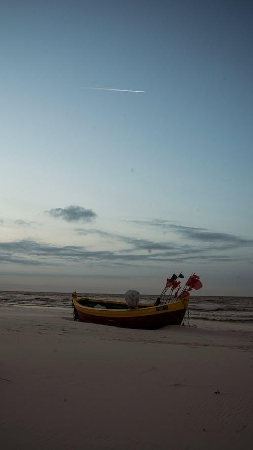 Free stock photo of above sea, baltic sea, beach