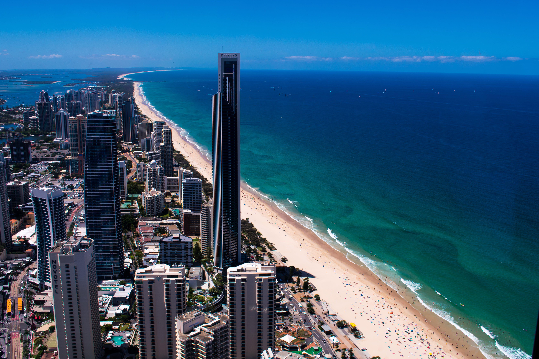 Free stock photo of australia, beach, brisbane, city