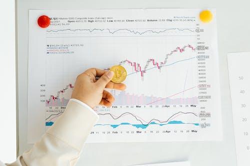 Kostnadsfri bild av aktiemarknaden, bitcoin, börsen