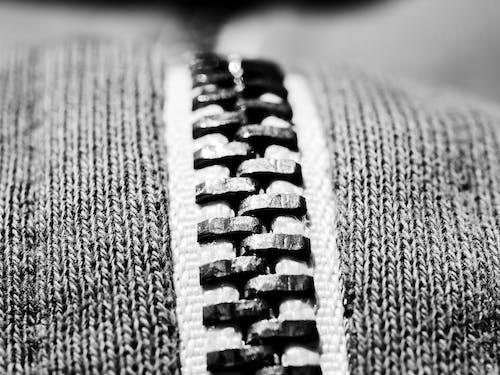 Free stock photo of macro, texture, zip