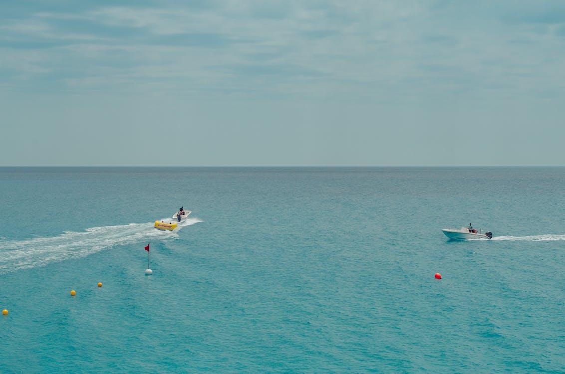 agua, barcos, Chipre