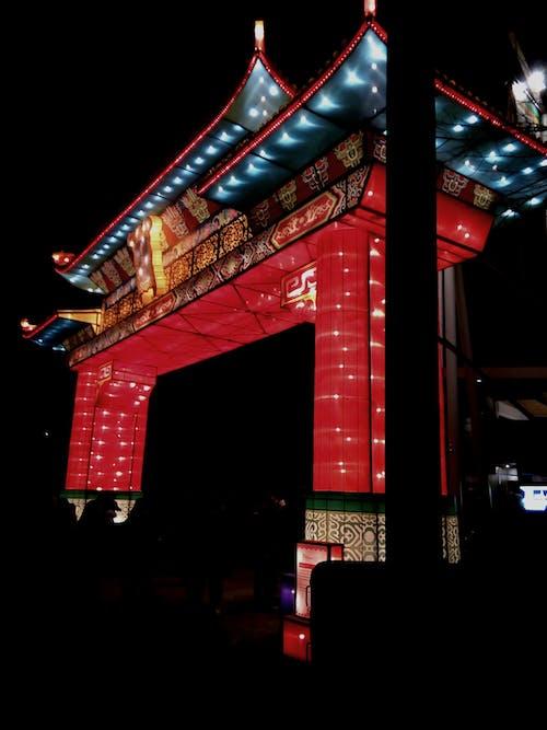 Free stock photo of china, chinese lanterns, lights