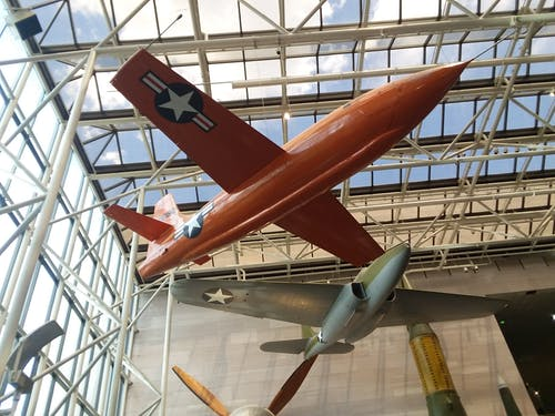 Free stock photo of airplane, museum, washington dc