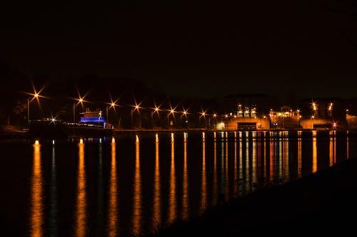 Základová fotografie zdarma na téma člun, kanál, lampion, lampiony