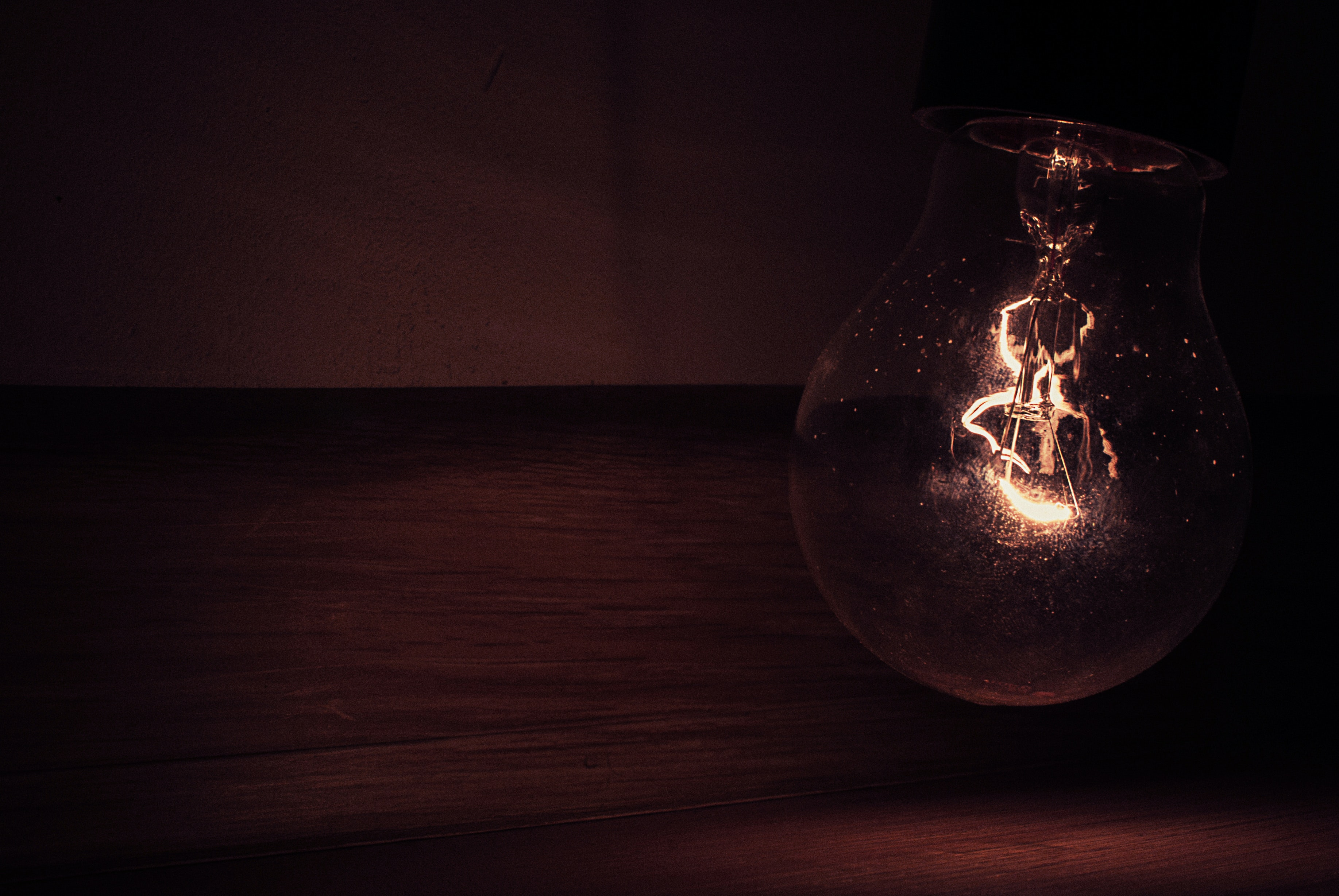White Light Bulb 183 Free Stock Photo