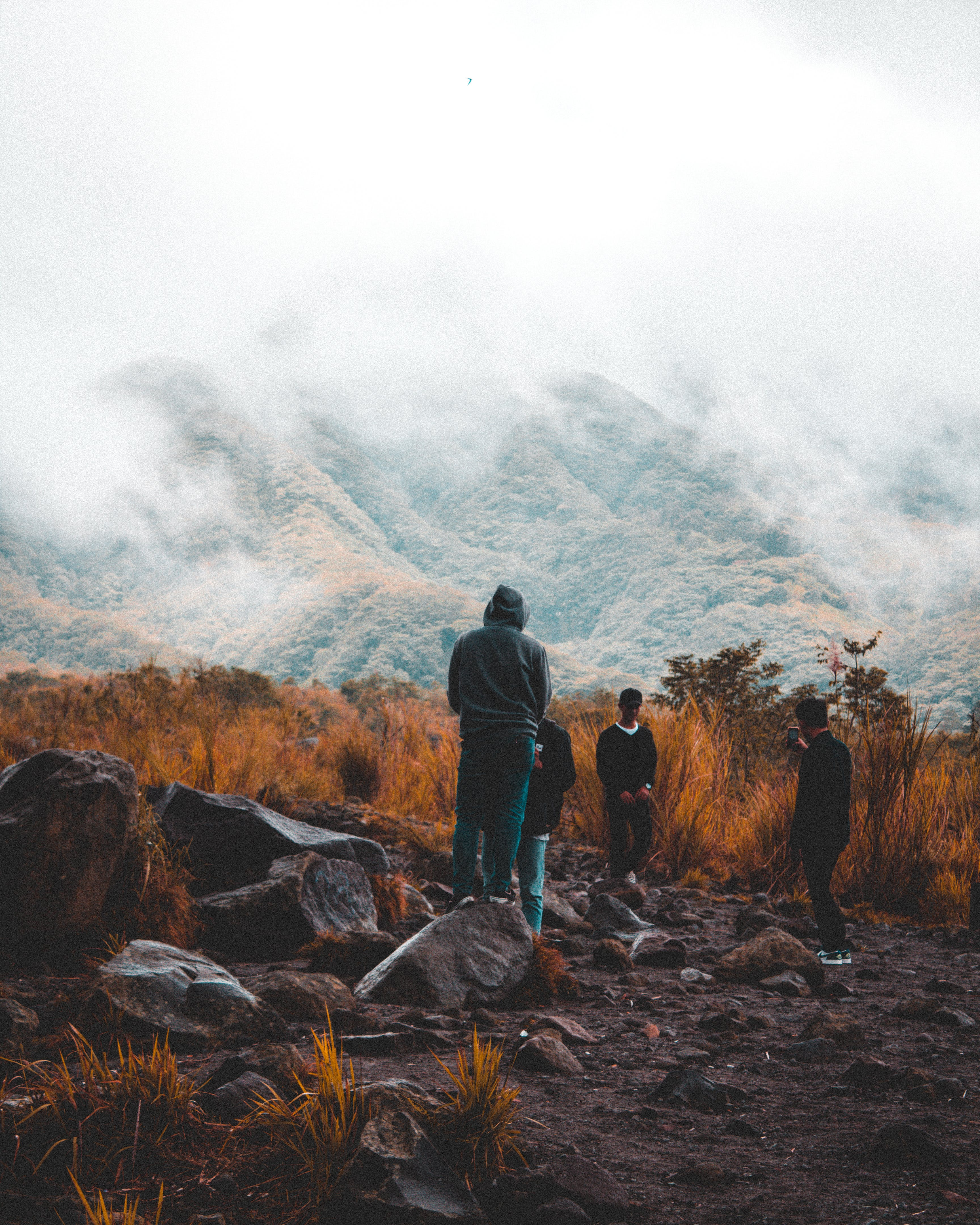 Kostenloses Stock Foto zu abenteuer, berg, draußen, dunkel
