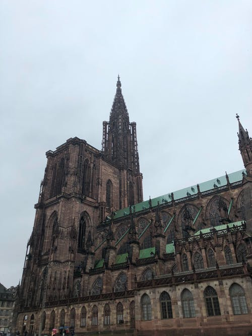 A Beautiful Ancient Cathedral Under the Sky