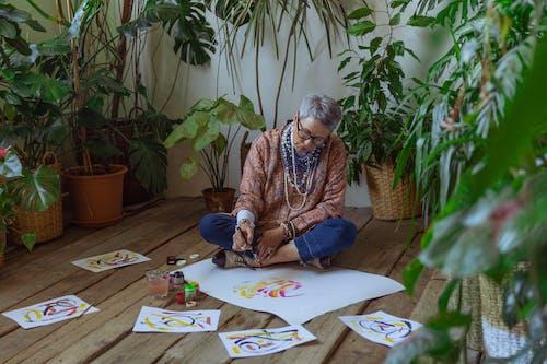 artistik, boş zaman, boyacı içeren Ücretsiz stok fotoğraf