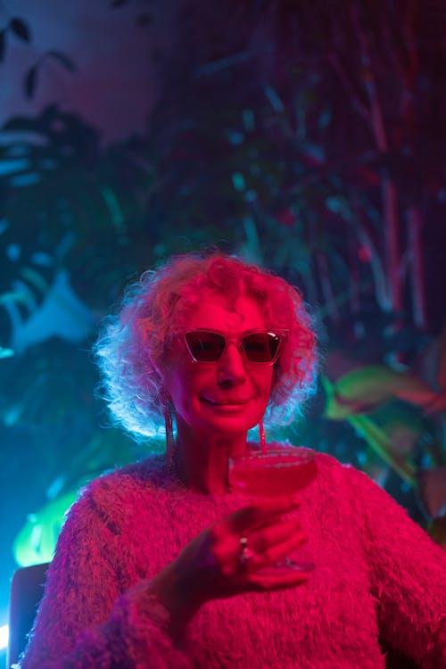 Photo of Fashionable Grandma Wearing Sunglasses