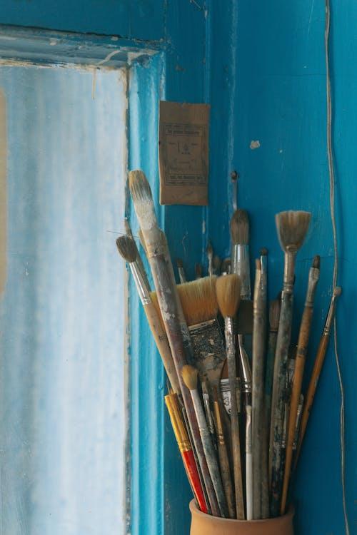 Darmowe zdjęcie z galerii z akryl, brudny, drewno