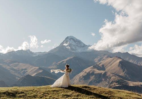 Free stock photo of adventure, bride, climb