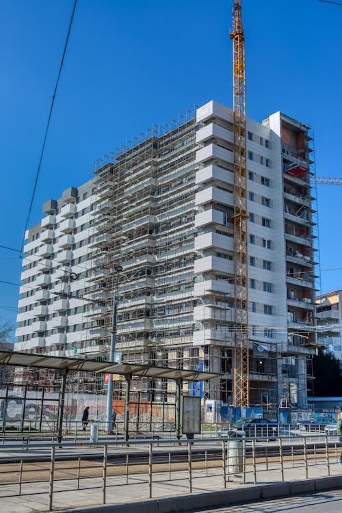 Free stock photo of block building, bucharest, construction