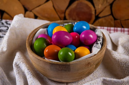 Free stock photo of arts and crafts, basket, candy