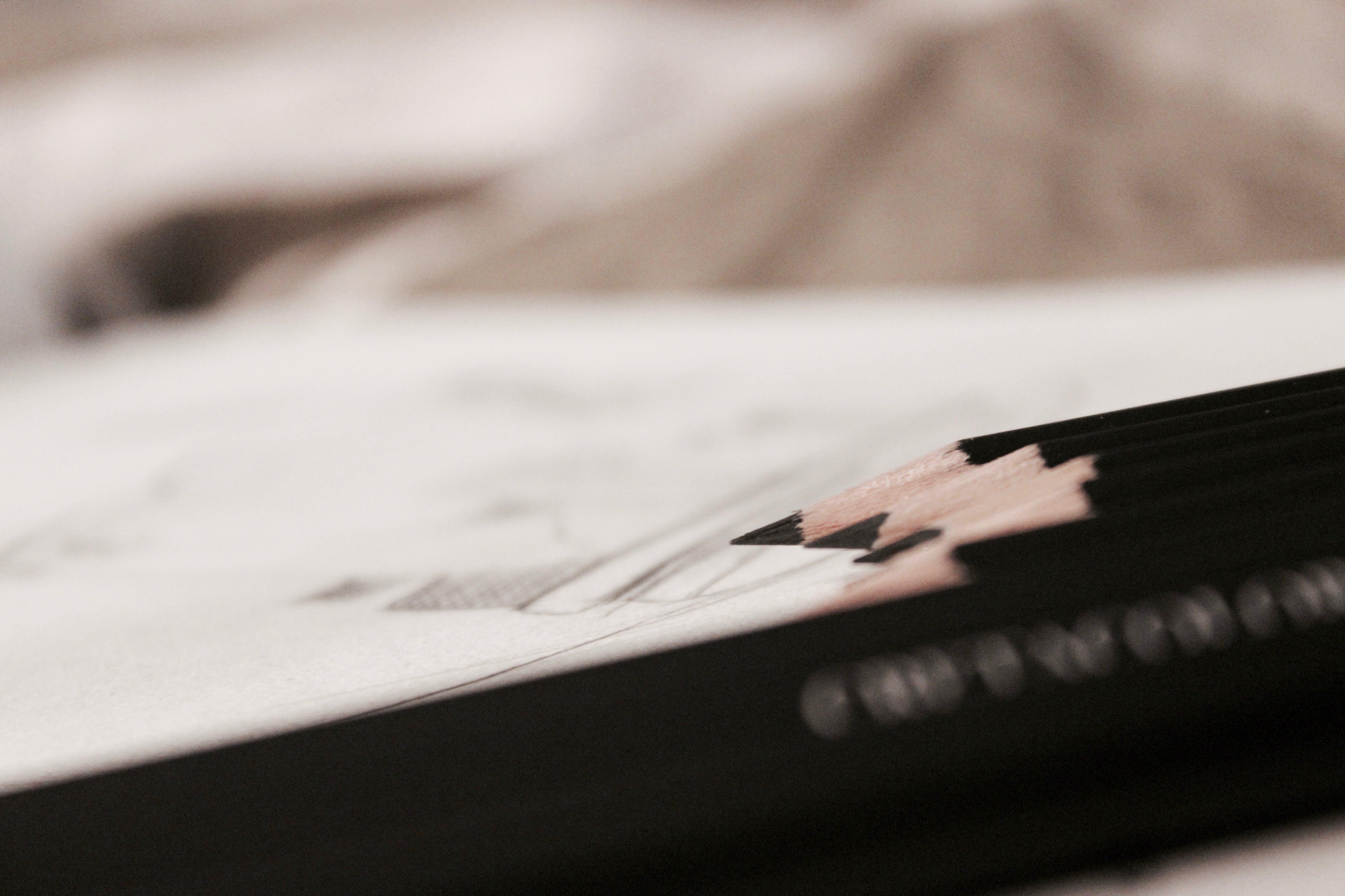 Free stock photo of night, desk, pencils, sketching