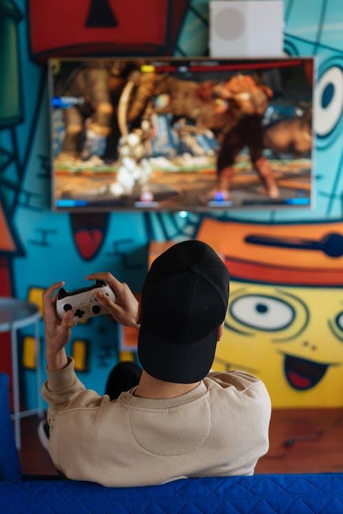 Foto profissional grátis de brincadeiras, controle de videogame, dispositivo