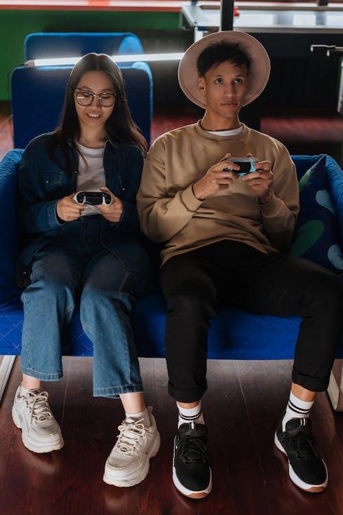 게임 컨트롤러, 게임패드, 놀이의 무료 스톡 사진