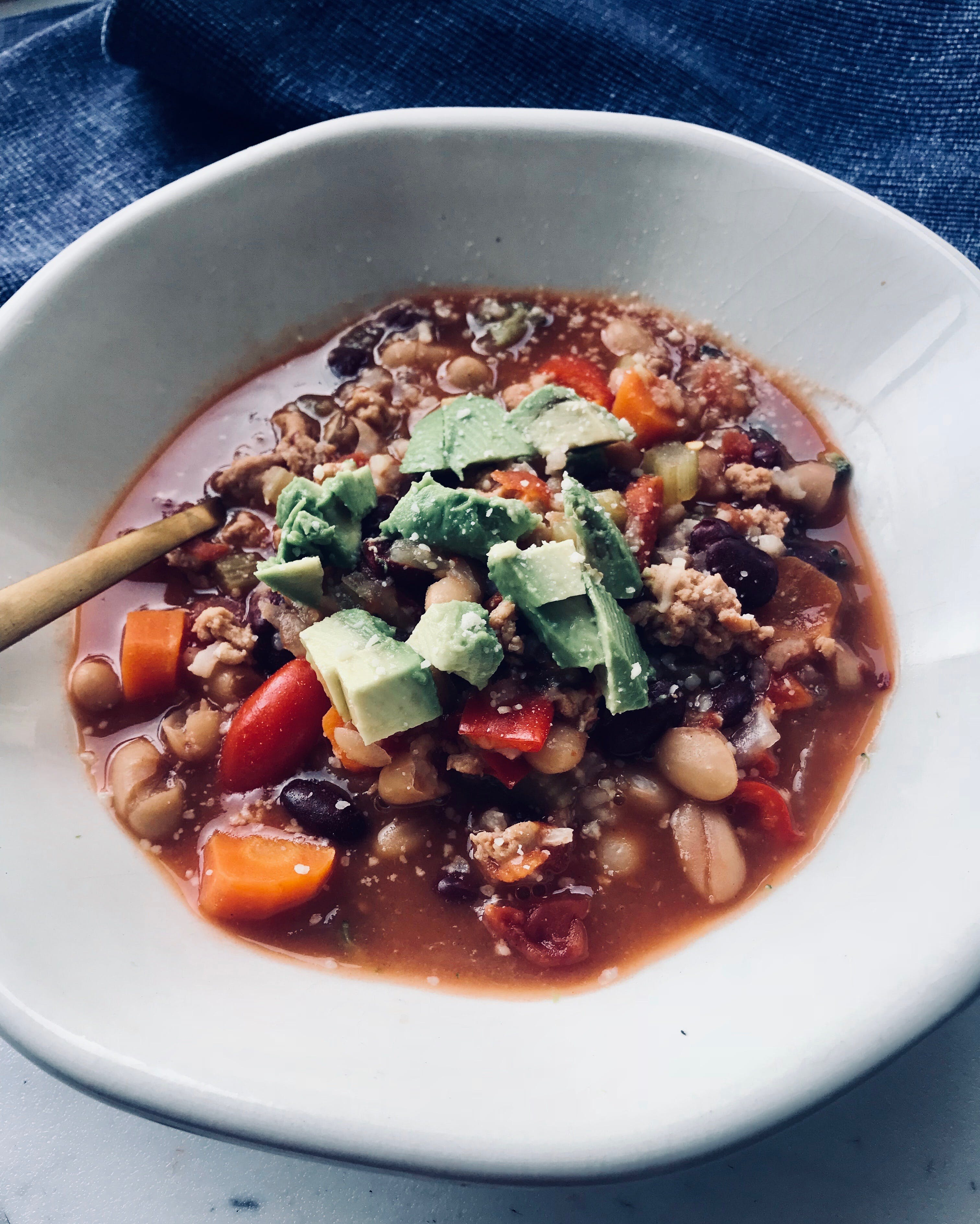 Free stock photo of #chili, #dialnutrition_rd, #healthydish