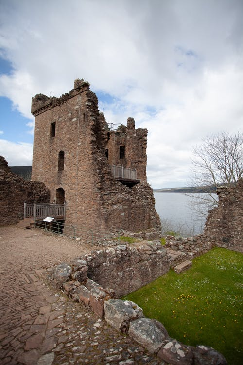 Foto d'estoc gratuïta de castell, llac ness