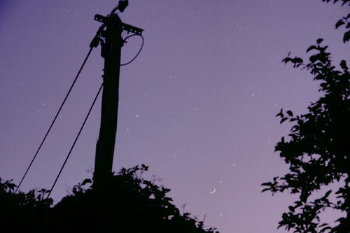 Free stock photo of purple sky