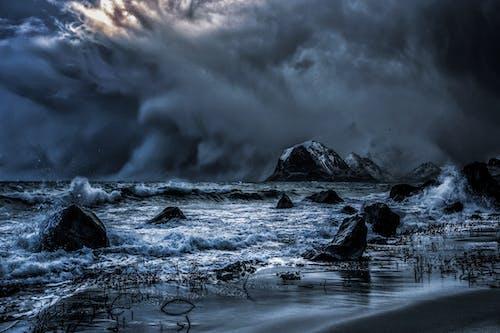 Ảnh lưu trữ miễn phí về ánh sáng bắc cực, áp suất cực thấp, biển bão