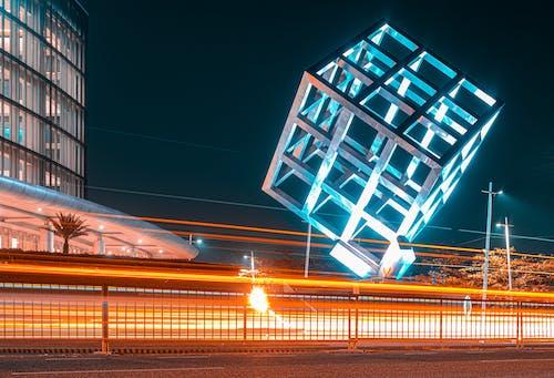 Photos gratuites de architecture, art, bleu