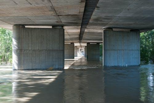 Free stock photo of bridge, concrete, convergent