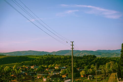 Kostenloses Stock Foto zu baum, berg, bergdorf