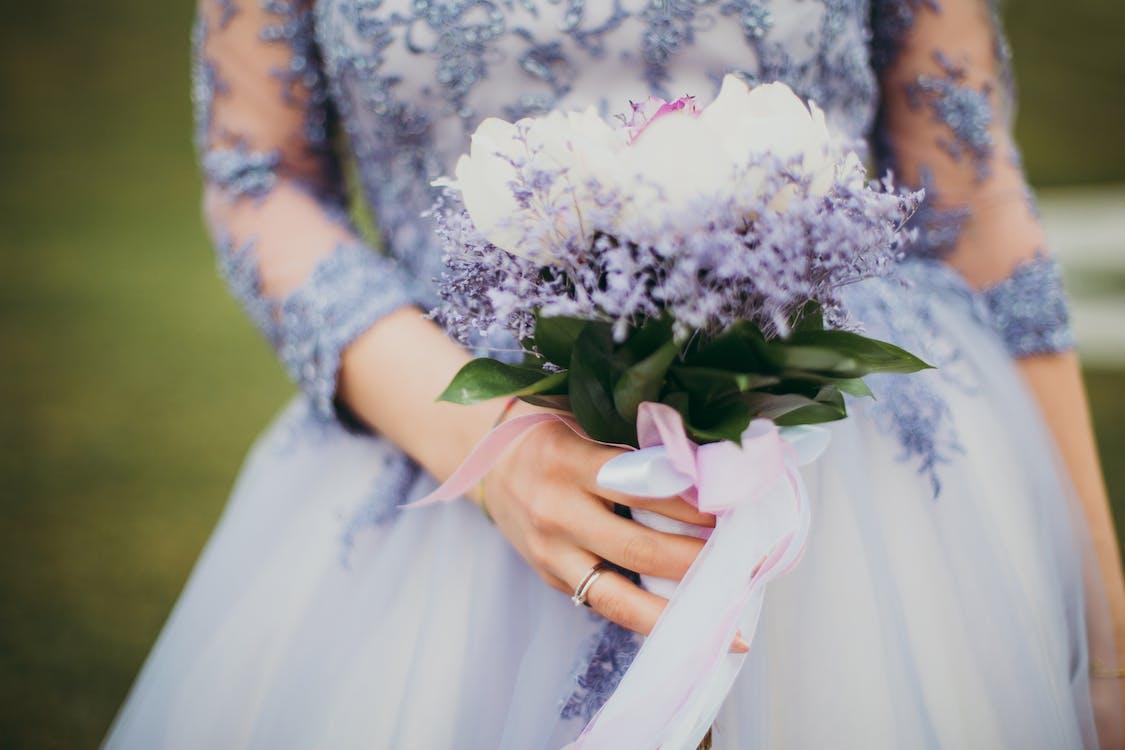 desgaste, efecto desenfocado, flores