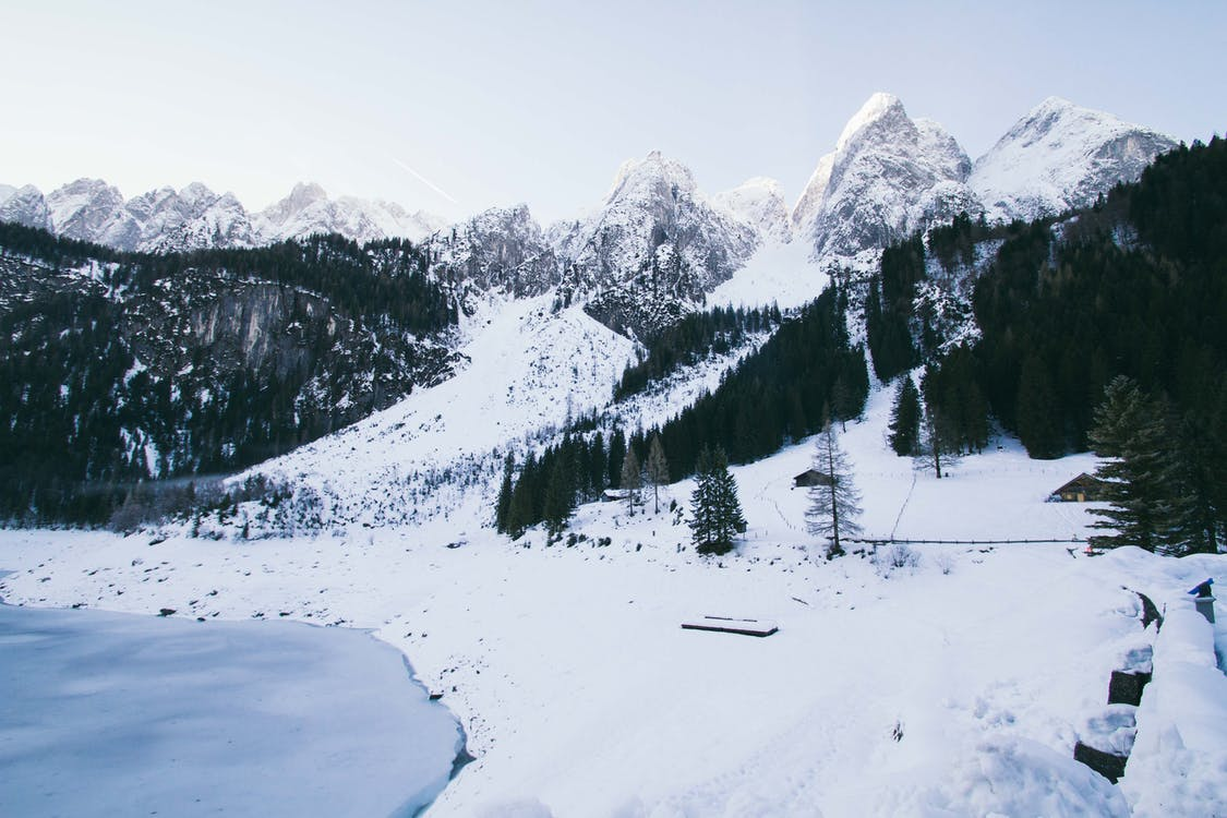 Photography of Snowy Mountains