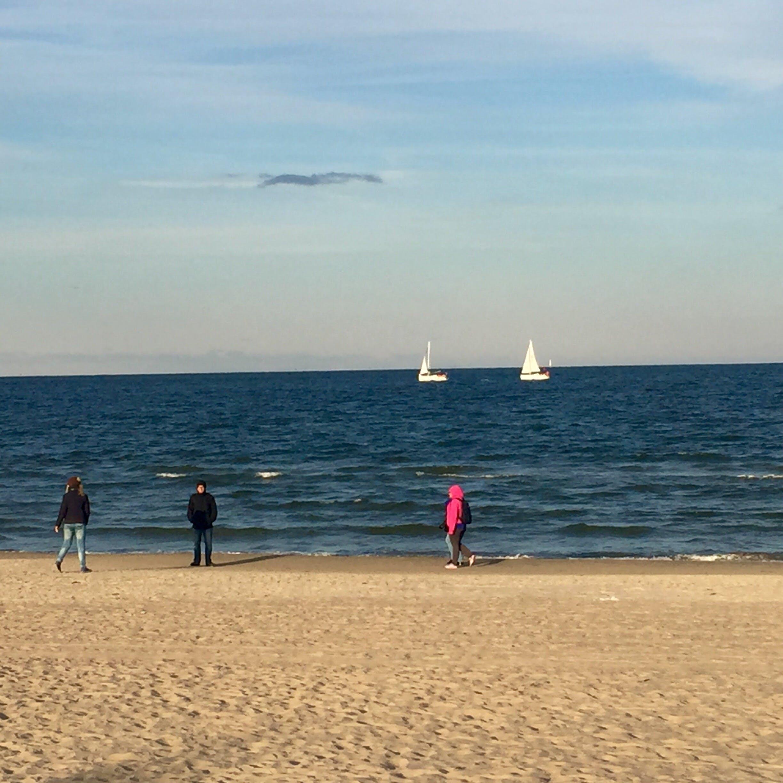 Kostenloses Stock Foto zu sand, segel, strand, yachten