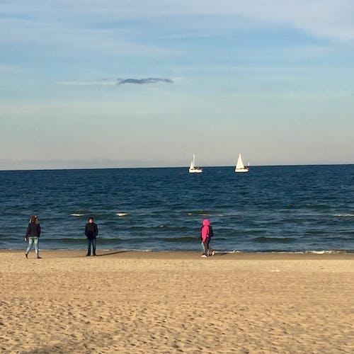 Fotos de stock gratuitas de arena, paño, playa, yates