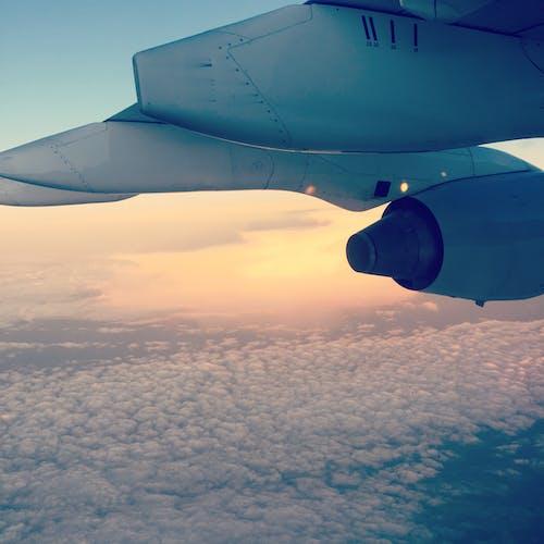 Fotobanka sbezplatnými fotkami na tému dopravný systém, kov, krídlo, let